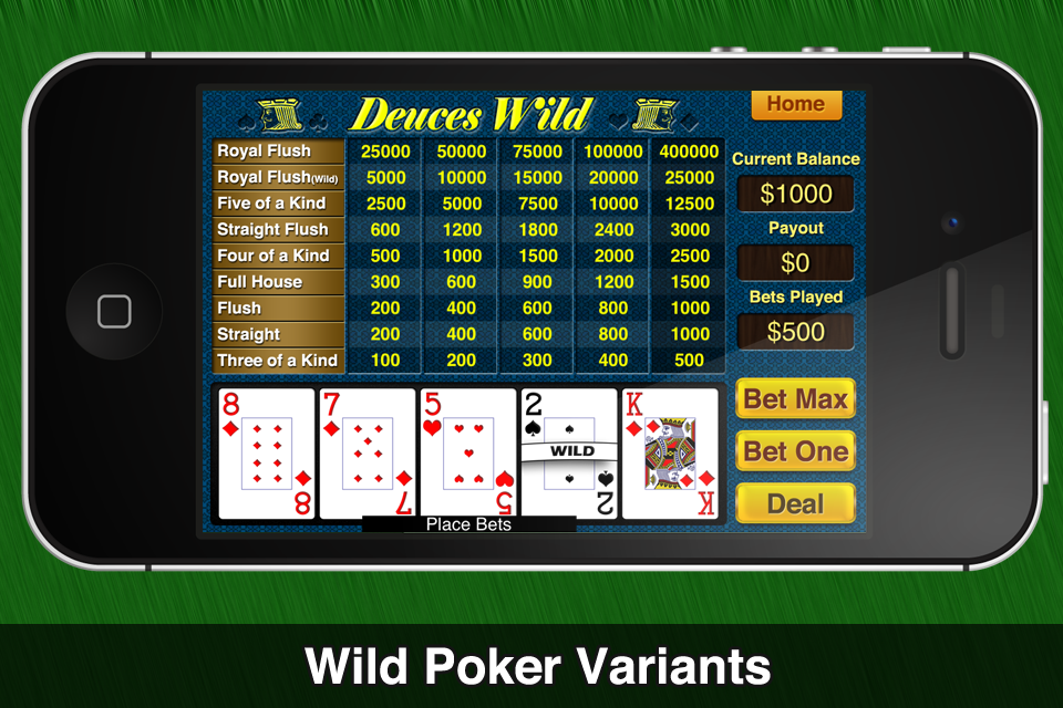 Mondo Video Poker